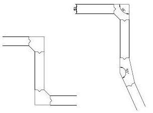 hoekplanken beton