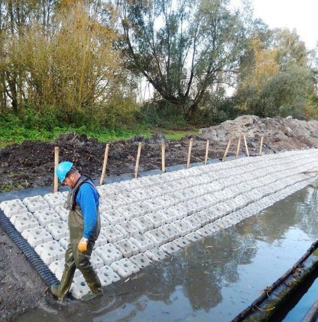 blokkenmatten beton