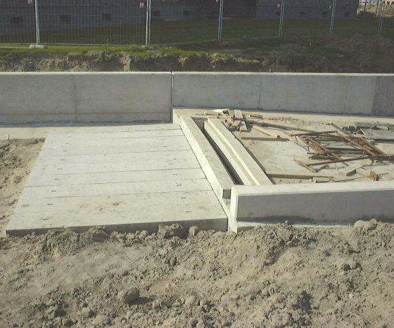 stootplaat stootplaten beton