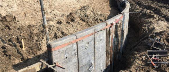 Damwandplanken antraciet – Isala Delta te Kampen