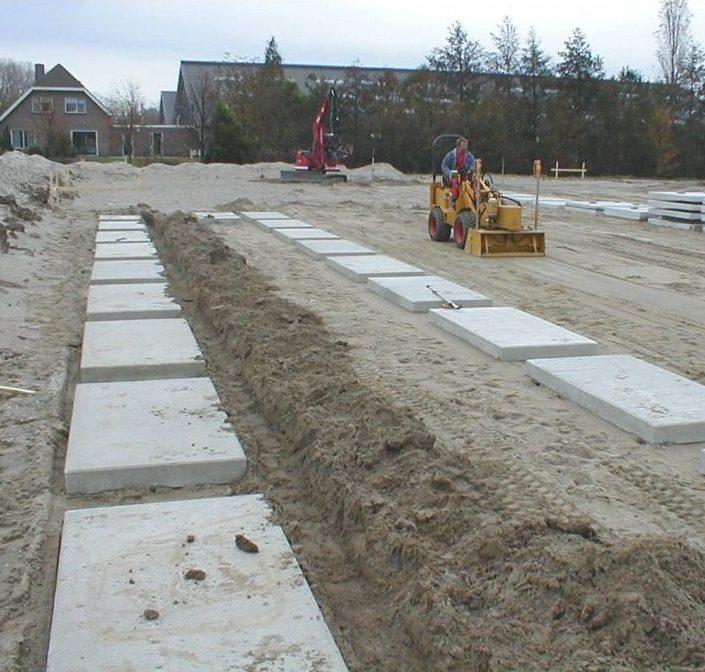 Fundatieplaten beton