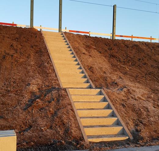 Traptreden van beton 1