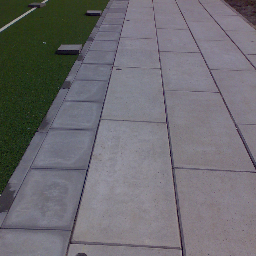 sportparkplaten beton
