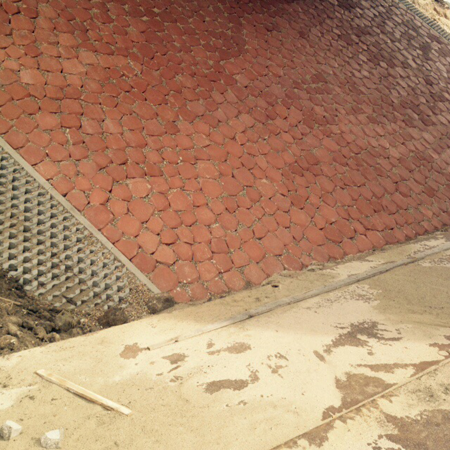 taludbestrating beton
